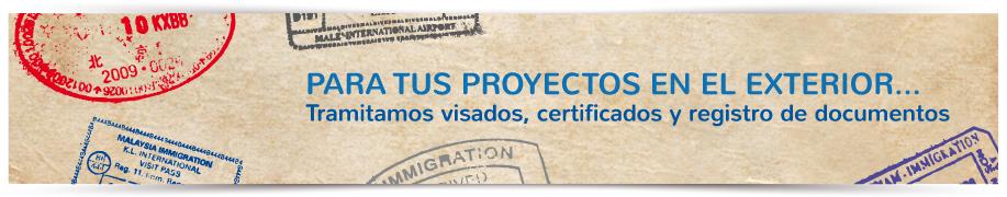 Visados y certificados