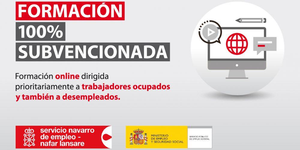 La Fundación Industrial Navarra lanza para octubre un programa formativo online 100% subvencionado por el Servicio Navarro de Empleo