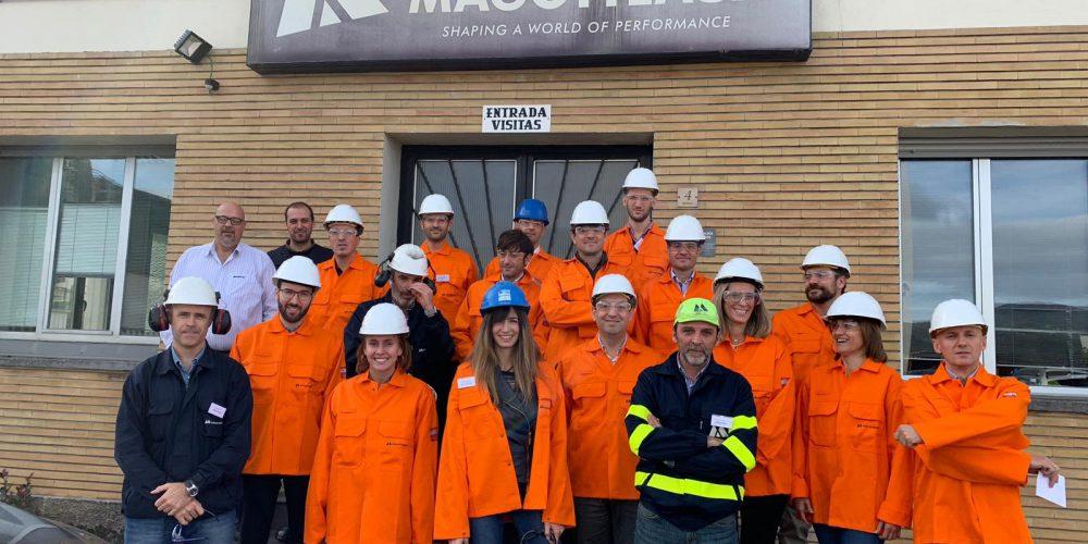 Empresas de la FIN visitan Magotteaux