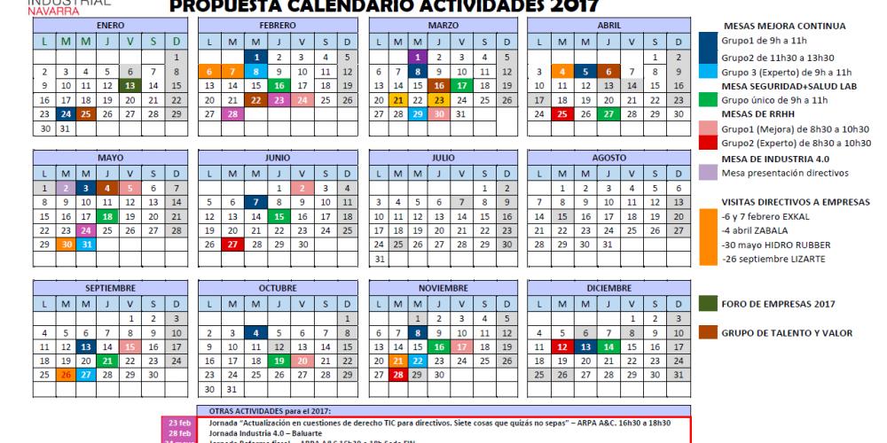 Actividades 2017