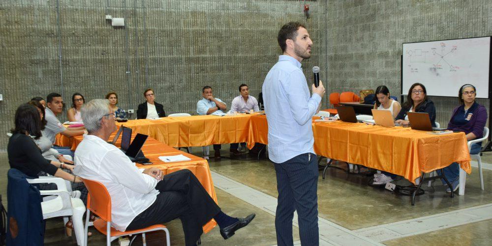 La Fundación y el COIINA internacionalizan sus conocimientos en Transformación Digital en Colombia