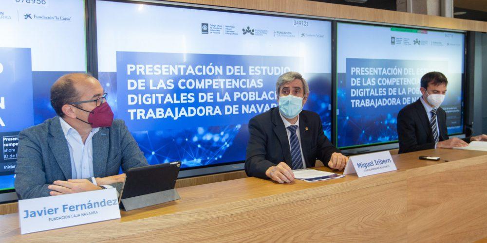 La población trabajadora de Navarra no alcanza el nivel necesario para afrontar procesos de digitalización