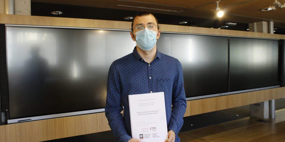 Álvaro Casi, ganador de la XXIII edición de las Ayudas a la Innovación Fundación Fuentes Dutor
